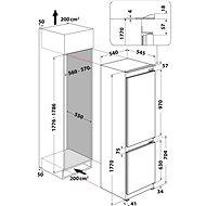 WHIRLPOOL WHC18 T573 - Vestavná lednice