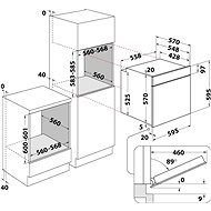 INDESIT IFW 6834 WH + INDESIT RI 261 X - Set trouba a varná deska