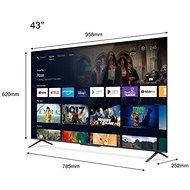 """43"""" TCL 43C725 - Televize"""
