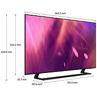 "43"" Samsung UE43AU9002 - Televize"