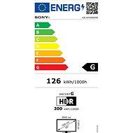 65'' Sony Bravia LED KE-65XH8096 - Televize