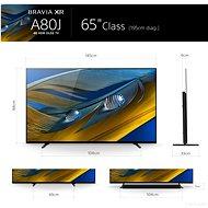 """65"""" Sony Bravia XR-65A80J - Televize"""