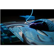 XTRFY Large Gaming Mousepad GP4 Modrá - Podložka pod myš