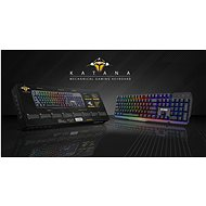 YENKEE YKB 3500 KATANA - CZ - Herní klávesnice