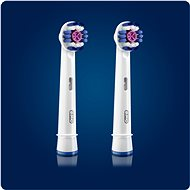Oral-B náhradní hlavice 3D White 2ks - Náhradní hlavice