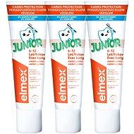 ELMEX Junior 3 × 75 ml - Zubní pasta