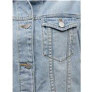 Světle modrá džínová bunda VILA Rosabell L - Bunda