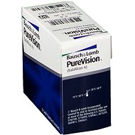 PureVision (6 čoček) dioptrie: +4.00, zakřivení: 8.50 - Kontaktní čočky