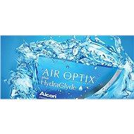 Air Optix Plus HydraGlyde (6 čoček) dioptrie: +6.00, zakřivení: 8.60 - Kontaktní čočky