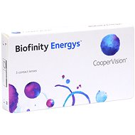 Biofinity Energys (3 čočky) dioptrie: -3.75, zakřivení: 8.60 - Kontaktní čočky