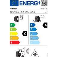 Matador MPS400 Variant AW2 215/70 R15 C 109/107 R - Celoroční pneu