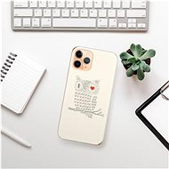 iSaprio I Love You 01 pro iPhone 11 Pro - Kryt na mobil
