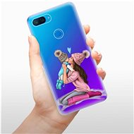 iSaprio Kissing Mom - Brunette and Boy pro Xiaomi Mi 8 Lite - Kryt na mobil