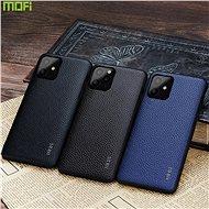 MoFi Litchi PU Leather Case iPhone 11 Pro Max Hnědé - Kryt na mobil