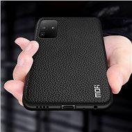 MoFi Litchi PU Leather Case Samsung Galaxy S20 Ultra 5G Hnědé - Kryt na mobil