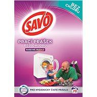 SAVO barevné prádlo 5 kg (70 praní) - Prací prášek