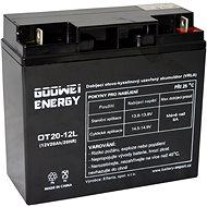 GOOWEI ENERGY OTL20-12, baterie 12V, 20Ah, DEEP CYCLE - Trakční baterie