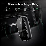 Ugreen Car & Home Bluetooth 5.0 Receiver aptX Audio Adapter Handsfree Black - Bluetooth adaptér