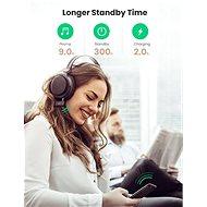 Ugreen Car & Home Bluetooth 5.0 Receiver Audio Adapter Handsfree Black - Bluetooth adaptér
