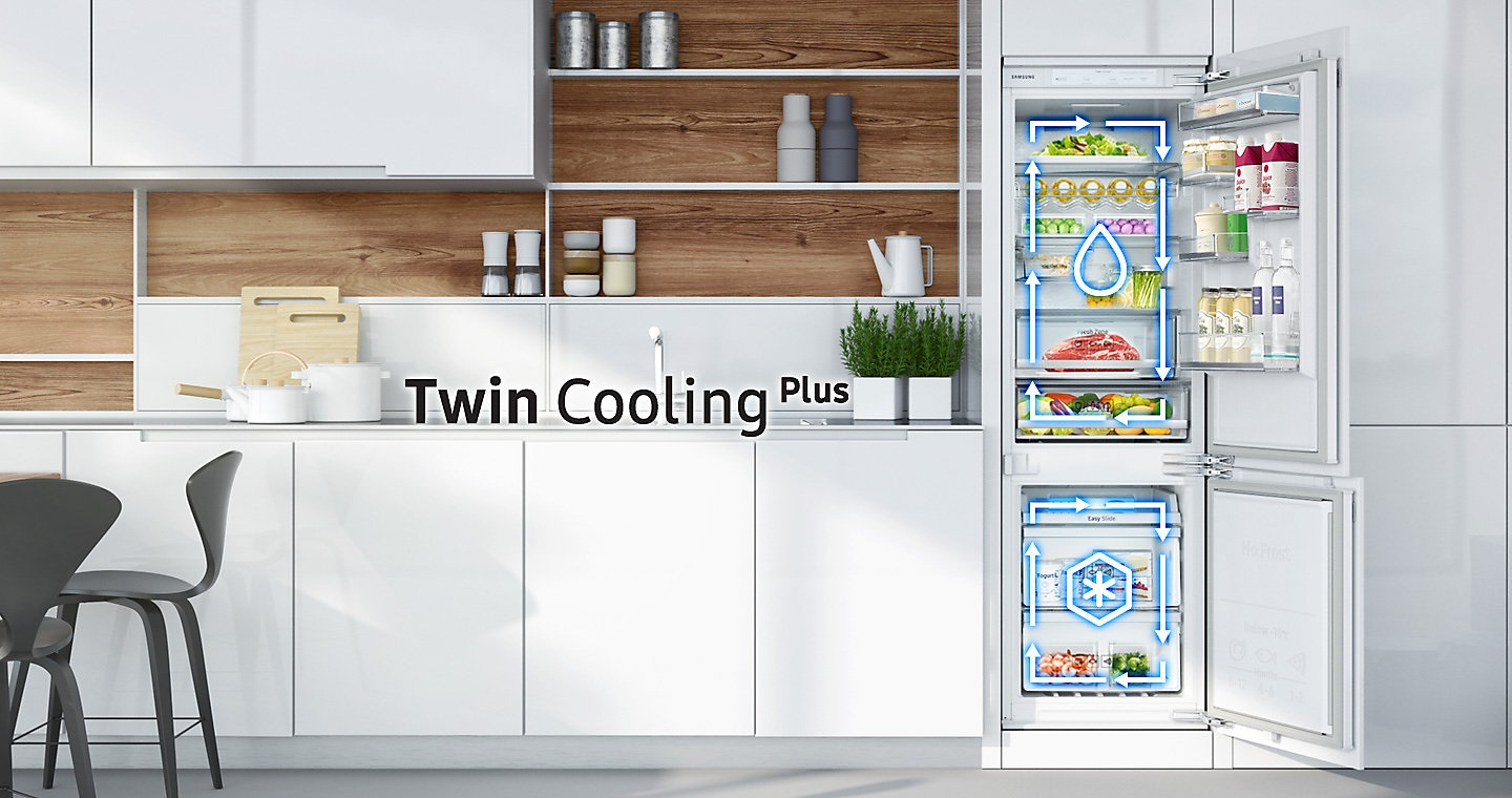 SAMSUNG BRB260076WW/EF twin cooling plus