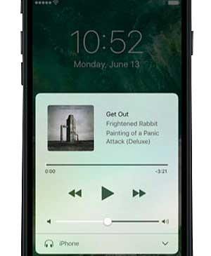 iOS - hudba