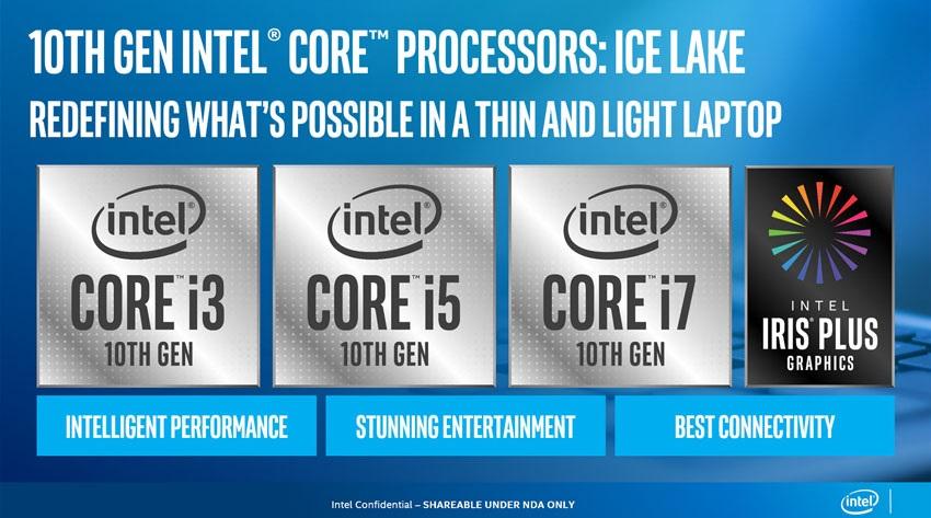 Ice Lake, nové CPU