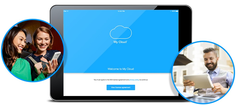 Aplikace My Cloud