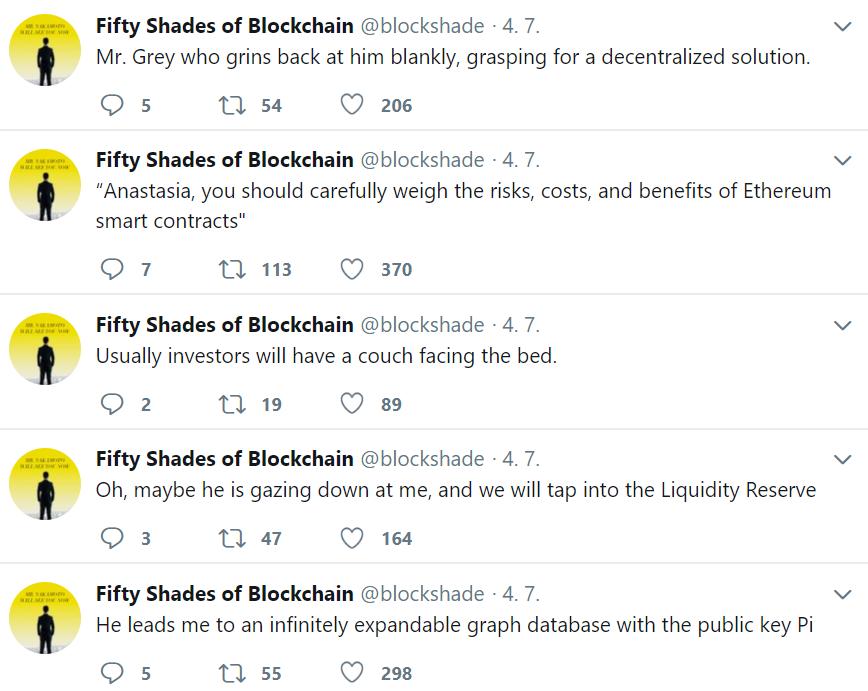 50 shades blockchain