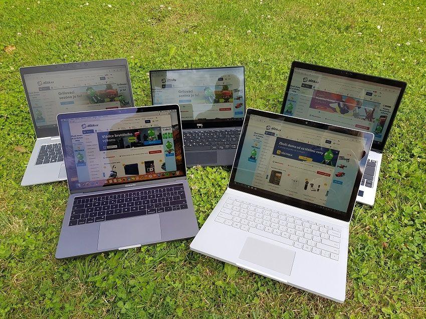 test, recenze, notebook, notebooky na cesty, čitelnost