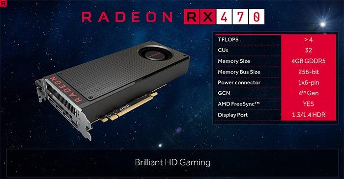 Zlevňujeme karty s čipem AMD Radeon RX 470