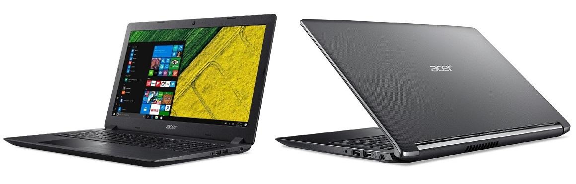 Recenzeů Acer Aspire 3 a Acer Aspire 5; úvod