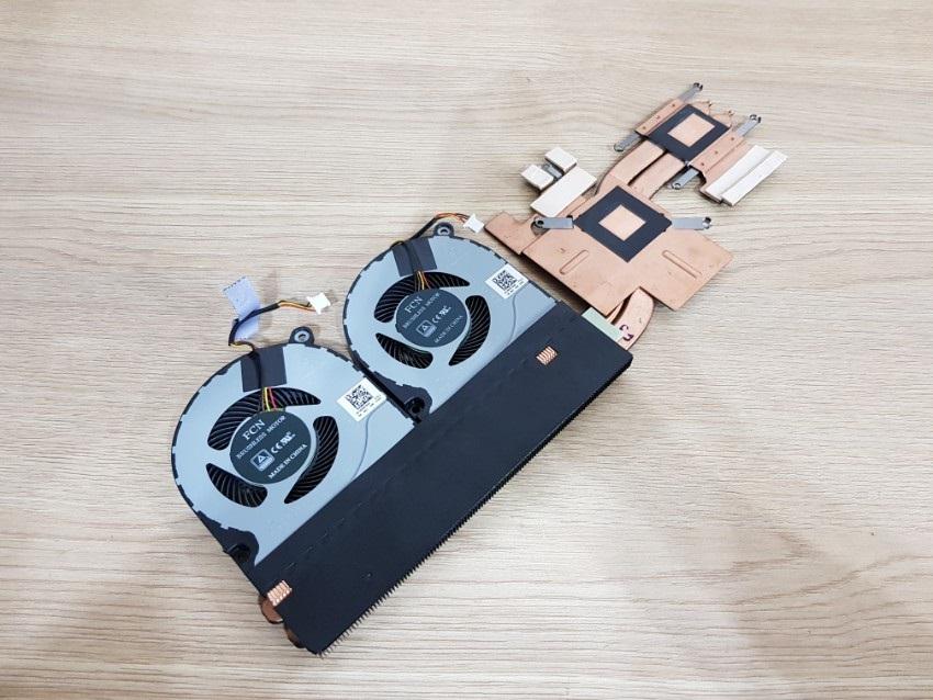 Acer Nitro 5, heatsink