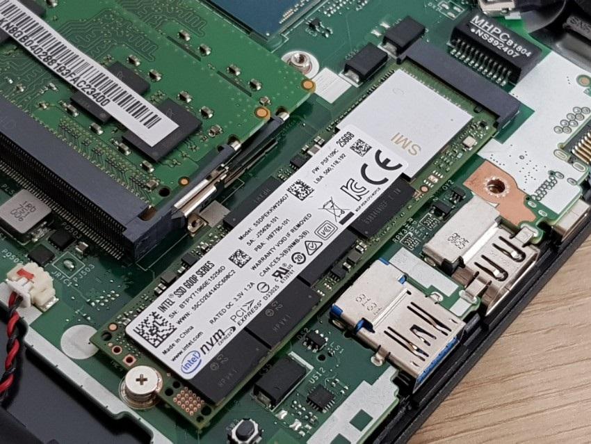 Acer Nitro 5 - M.2 Slot