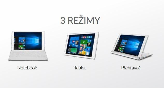 Alcatel 10 Plus - multifunkční tablet