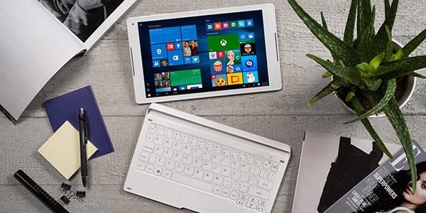 Alcatel PLUS 10, multifunkční tablet s lákavou cenou a dokovatelnou klávesnicí