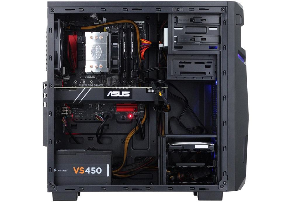 Alza GameBox Neo 1060+, vnitřní uspořádání