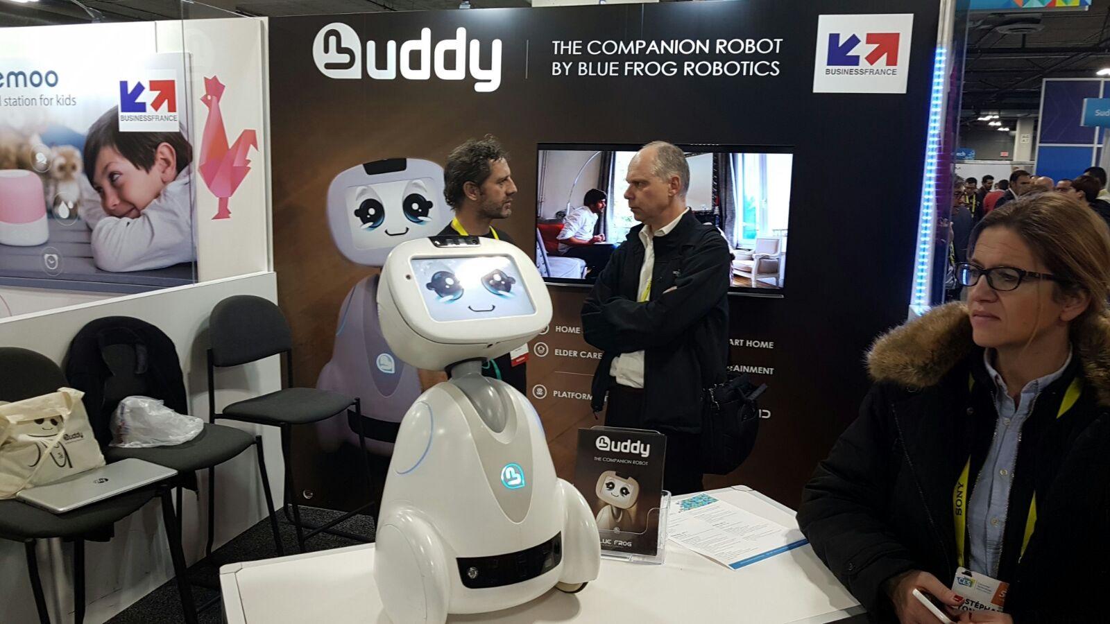 CES 2017; Buddy; robot společník