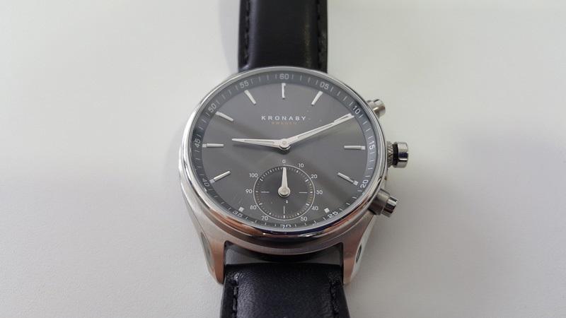 Chytré hodinky Kronaby Sekel recenze