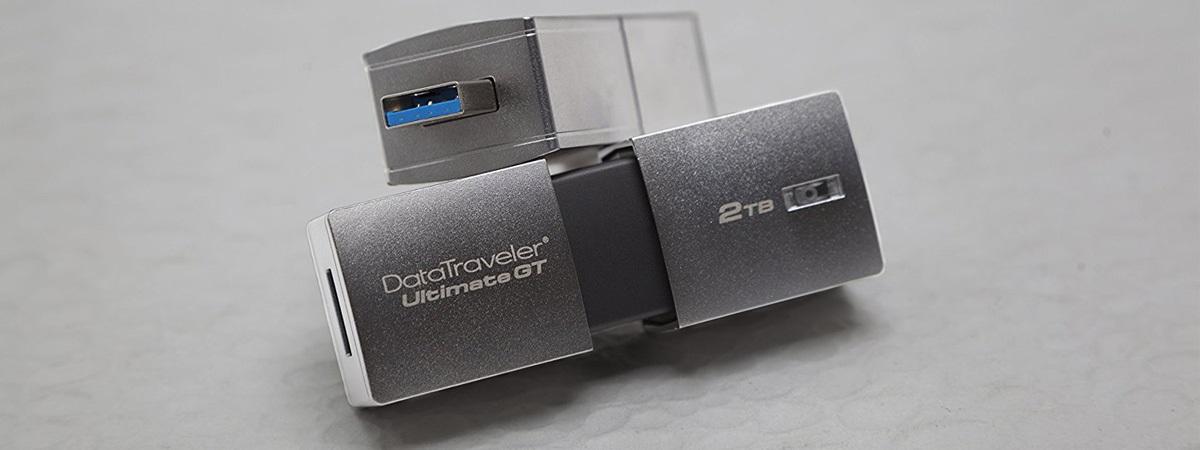 Kingston DataTraveler Ultimate GT 2TB je největší flash disk na světě