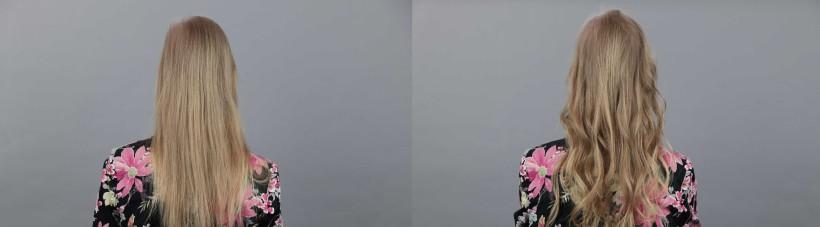 Loknovací kulma BaByliss Curl Secret - před a po 0f5d8509d64