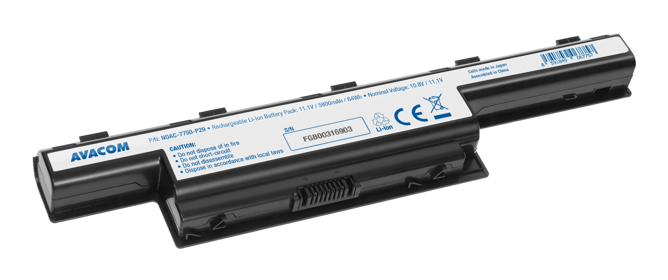 AVACOM baterie