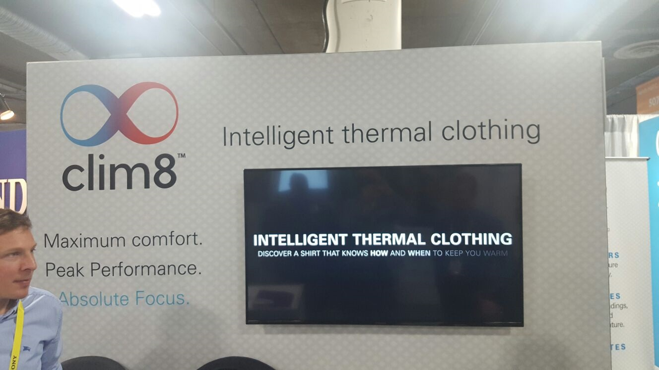 CES 2017; Intelligent thermal clothing