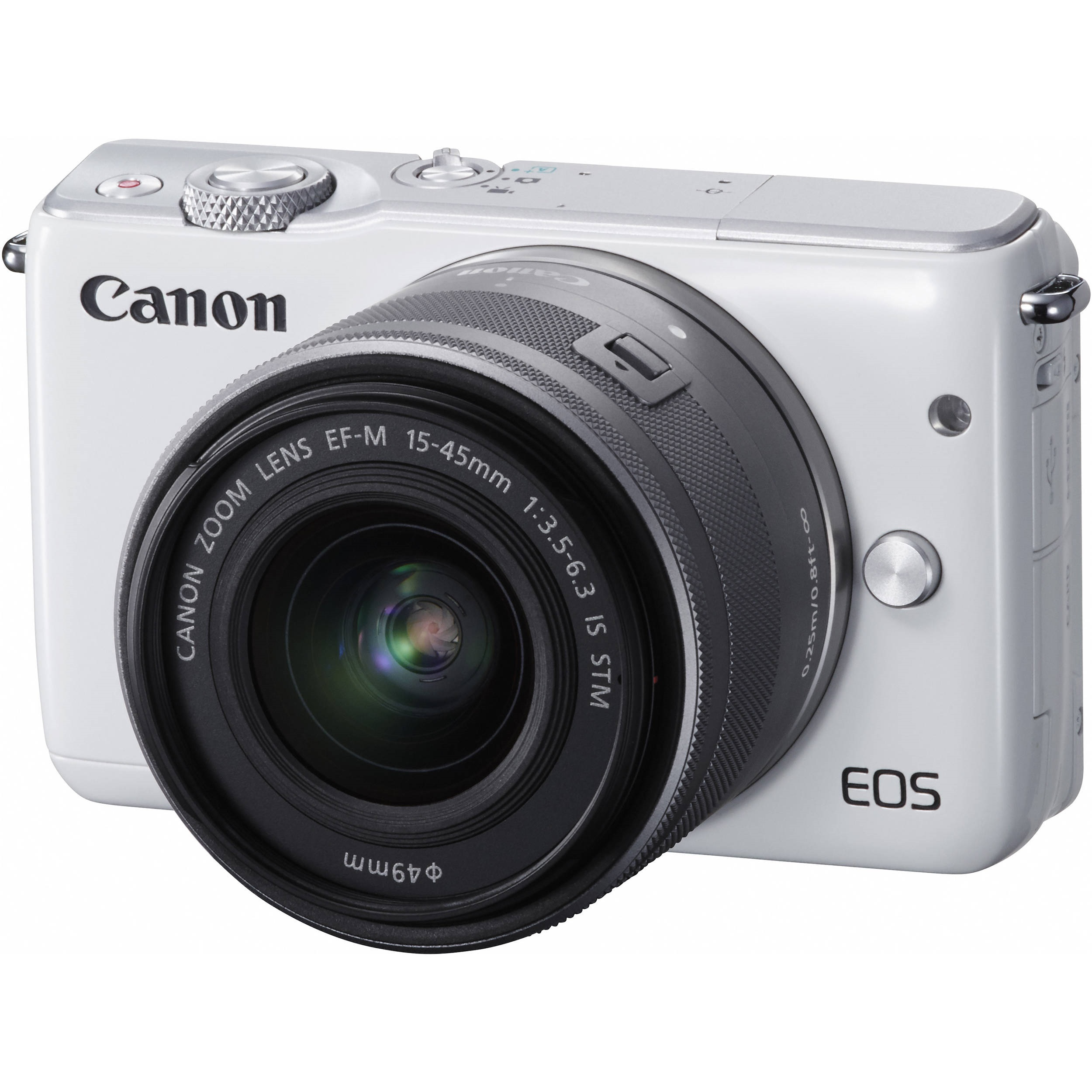 Canon EOS M10 EF 15-45mm f/3,5-6,3 IS STM; recenze; objektiv