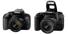 Rodina Canon EOS se rozrůstá o zrcadlovky 800D a 77D