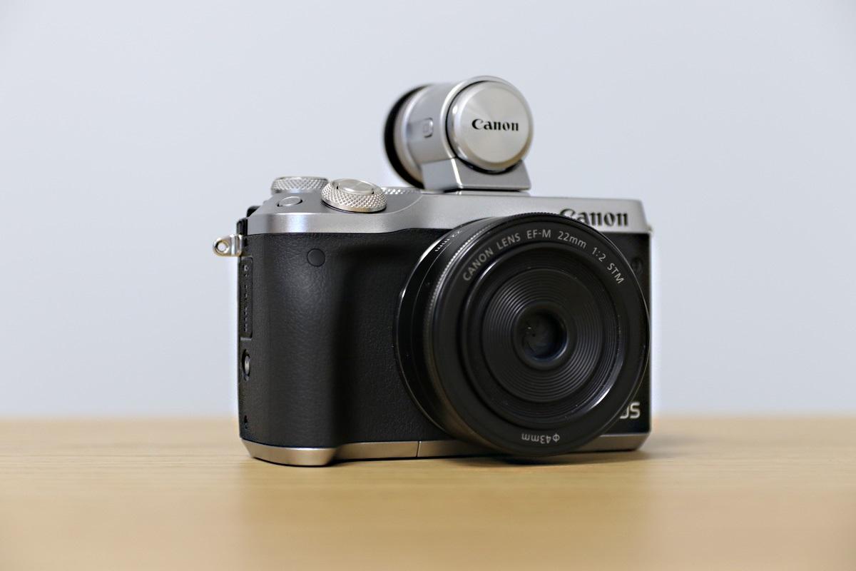 Canon EOS M6 kompakt s výměnnými objektivy