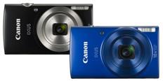 Canon IXUS 185 a 190 jsou levné kompakty do kapsy