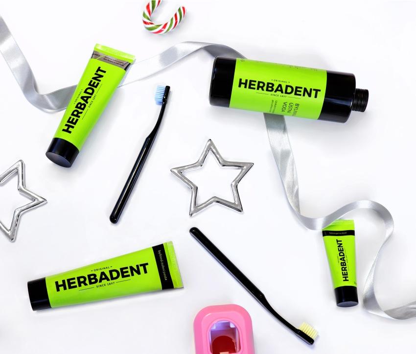 Nové obaly produktů Herbadent