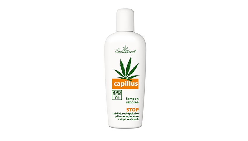 Šampon Cannaderm Capillus seborea