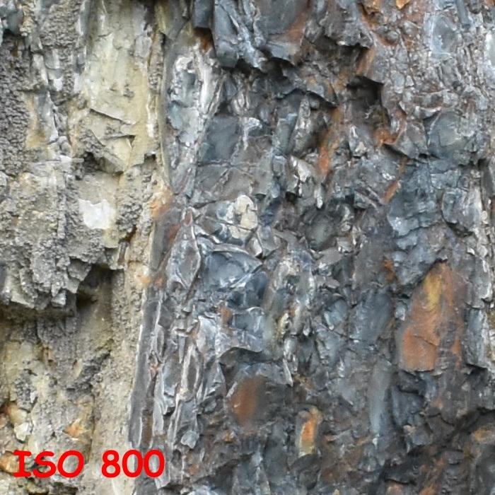 Nikon D3400; digitální šum; ISO 800