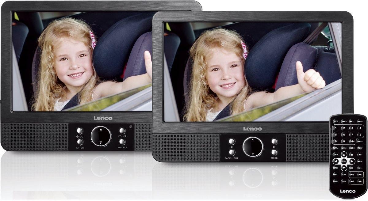 DVD přehrávač do auta displej na hlavovou opěrku